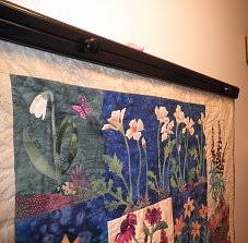 How to Hang a Quilt Using a Quilt Wall Hanger and a Hanging Sleeve & quilt wall hanger Adamdwight.com