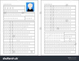 Japanese Resume Japanese Resume Whole Surface Stock Vector 24 Shutterstock 11