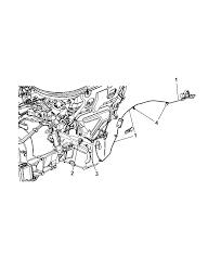 2013 dodge durango engine cylinder block heater thumbnail 1