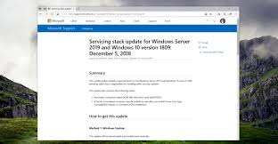 What Windows Version Do I Have What Are Windows 10 Servicing Stack Updates And Why Do We