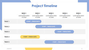 Picture Timeline 47 Project Timeline Template Free Download Word Excel
