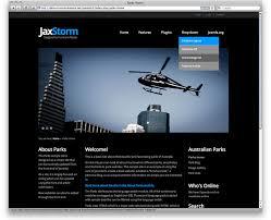 Black Template Jaxstorm Black Free Template For Joomla 3 0 Black Vivid Cyan