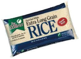bag of white rice.  Bag To Bag Of White Rice