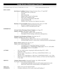 Law Clerk Sample Resume Judicial Law Clerk Resume Mesmerizing Sample Resume Judicial Law 6