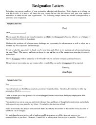 82+ [ Resignation Letter Example ] | Resignation Letter Sample ...