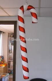 Large Candy Cane Decorations 60 fun candy cane christmas decor ideas for your home digsdigs 6