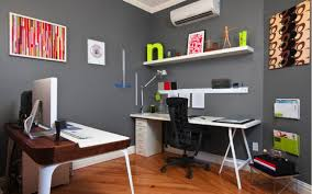 creative home office. Creative Home Office In Small Spaces With 2 Computer Desks And