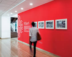 designs ideas wall design office. All The Wall Graphics In This Office Were Inspired By Indian Folk Art Designs Ideas Wall Design Office F