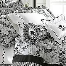 black toile bedding. Beautiful Bedding Black And White Toile Bedding Inside G