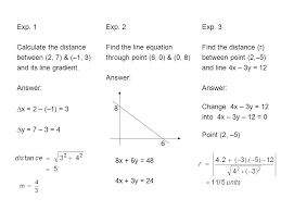 exp 1 calculate the distance between 2 7 9 circle equation