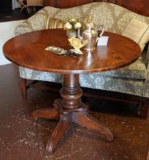 Antique Round Kitchen Table 40 Inch Round Dining Table Fancy Dining Room Table On Pedestal