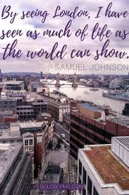 Saying Goodbye To Vacation Quotes With These 10 London Will Probably