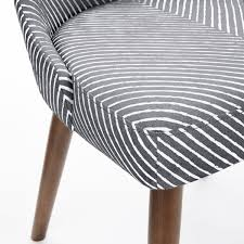 west elm office chair. Mid-Century Swivel Office Chair - Painted Stripe West Elm