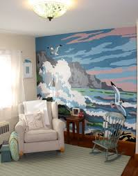 What one wall Mural may look like... Painting by numbers