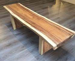 natural wood bench. Simple Wood Throughout Natural Wood Bench Rustic House U0026 Coffee Shop