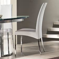 dining room chairs. Modern White Leather Dining Room Chairs | Design Ideas \u0026 Furniture Reviews