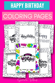 So, why not send a personalized card that's just as special as its recipient? 60 Best Free Printable Happy Birthday Coloring Sheets Stickers Cards Gift Tags And More Sarah Titus From Homeless To 8 Figures