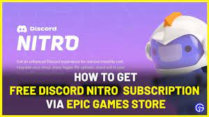 How To Redeem Discord Nitro From Epic Games Store