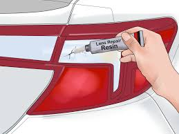 How To Fix Car Tail Lights 7 Steps With Pictures Wikihow