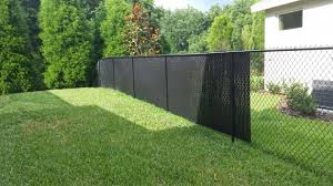 chain link fence privacy screen. Wonderful Decorating Great Solution Of Landscape Fence Using Chain Link Privacy Screen