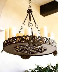 candles candle look chandelier lighting wonderful non electric for modern regarding size x