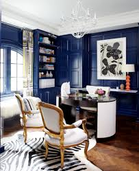 eclectic home office alison. Ikea Besta Blue Home Office Eclectic With Wood Paneling Window Alison