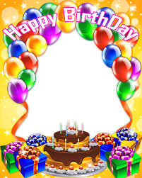 birthday collage frame png hd png all