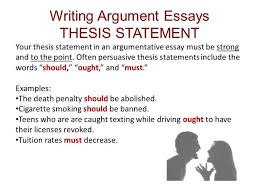 political science essays process essay thesis sample proposal  how to write a good argumentative essay thesis howstoco good thesis statements for essays the best