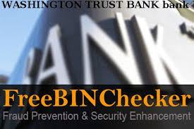 Washington Trust Bank Customer Service Washington Trust Bank Bin List Check The Bank Identification
