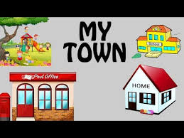 My Neighbourhood For Kids My Town Vocabulary For Kids Introduction Of My Town Preschool Learning