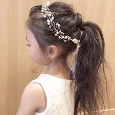 幼児のヘアアレンジヘアセット27選子供の女の子の簡単な髪型は Belcy