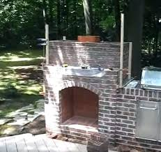 outside brick fireplace how to build an outdoor brick fireplace plain decoration how to build an outside brick fireplace