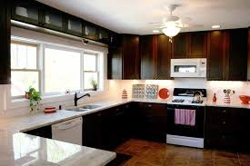 Modern Kitchen White Appliances Stunning Full Size Of Oak Cabinets