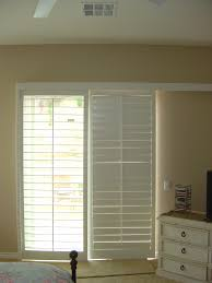Dashing Shutters On Sliding Glass Door Window Treatment Ideas As Wells As  Doors Blind Mice in