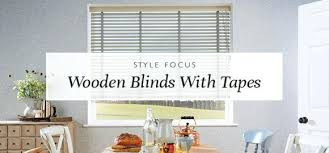 Window Wood Blinds Style Focus Wooden With Tapes Faux Home Depot