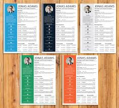 Resume Template Ai 100 Colors Custom Resume Template Word Resume Template 80