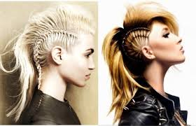 Viking Hairstyle Female mohawk hairstyles for women with long hair youtube 2001 by wearticles.com