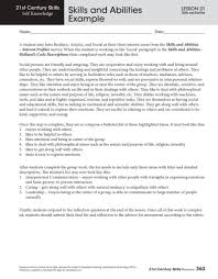 Examples Of Abilities Skills And Abilities Example Resume Cover Letter 10