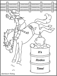 Small Picture Fresh Rodeo Coloring Pages 29 For Coloring Print with Rodeo