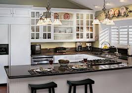 Lovable Small Kitchen With White Cabinets Small Kitchen Ideas White Cabinets  Seoyek