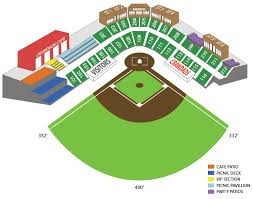 Blueclaws Stadium Seating Chart Lexington Legends Vs Hickory Crawdads Tall Pines Baseball