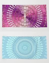 awesome beach towels. Awesome Mandala Beach Towels By David Zydd #gift #designgift #society6art