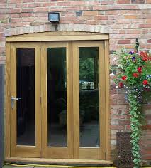 oak bi fold doors