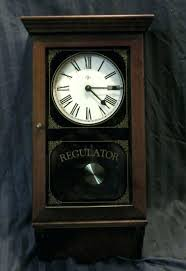 elgin regulator wall clock 31 day vintage