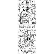 Bookmark Coloring Pages Bookmark Coloring Pages Tamken Co