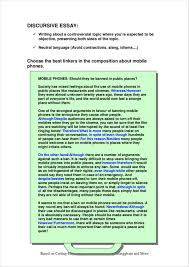 discursive essays free 5 discursive writing samples and templates pdf