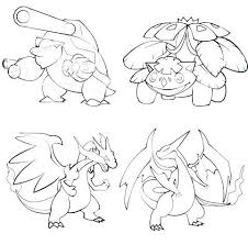 Pokemon Xy Coloring Pages Or Collection Of Pokemon Coloring Pages