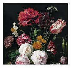 Fotobehang Bloemen Golden Age Flowers 2 2922 X 280 Cm Kek Amsterdam