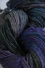 malabrigo silky merino yarn in zarzamora