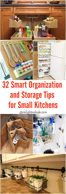 Storage For Small Kitchens 32 Smart Organization And Storage Tips For Small Kitchens